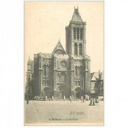 carte postale ancienne 93 SAINT DENIS. La Basilique 14