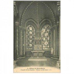 carte postale ancienne 93 SAINT DENIS. La Basilique Abbaye Chapelle Saint Philippe Vitraux 21