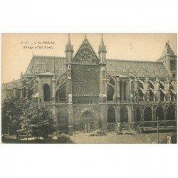 carte postale ancienne 93 SAINT DENIS. La Basilique Abbaye JF 4