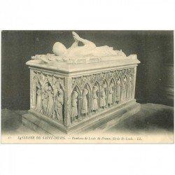 carte postale ancienne 93 SAINT DENIS. La Basilique Abbaye Tombeau Louis de France