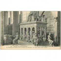 carte postale ancienne 93 SAINT DENIS. La Basilique Abbaye Tombeau Louis XII