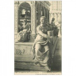 carte postale ancienne 93 SAINT DENIS. La Basilique Abbaye Tombeau Louis XII La Force