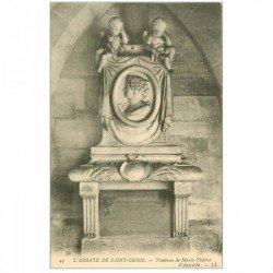 carte postale ancienne 93 SAINT DENIS. La Basilique Abbaye Tombeau Marie Thérèse