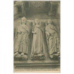 carte postale ancienne 93 SAINT DENIS. La Basilique Abbaye Tombeau Philippe V le Long