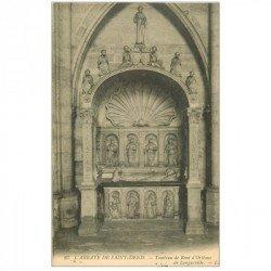 carte postale ancienne 93 SAINT DENIS. La Basilique Abbaye Tombeau René Orléans de Longueville