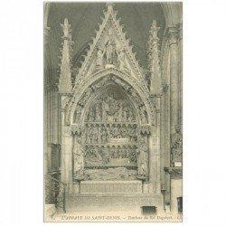 carte postale ancienne 93 SAINT DENIS. La Basilique Abbaye Tombeau Roi Dagobert