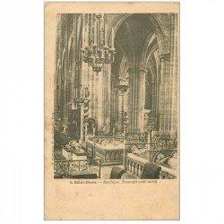 carte postale ancienne 93 SAINT DENIS. La Basilique Abbaye Transept 6