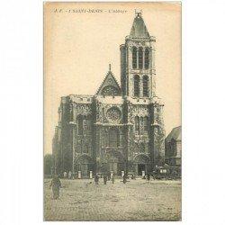 carte postale ancienne 93 SAINT DENIS. La Basilique JF1