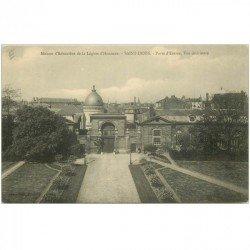 carte postale ancienne 93 SAINT DENIS. La Légion d'Honneur Porte
