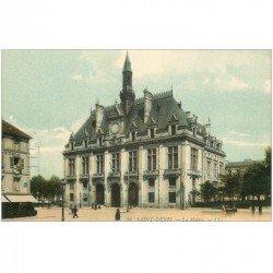 carte postale ancienne 93 SAINT DENIS. La Mairie