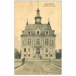 carte postale ancienne K. 91 ESSONNES. Hôtel de Ville