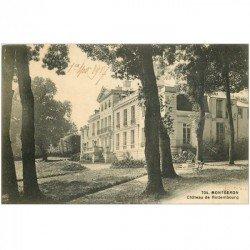 carte postale ancienne K. 91 MONTGERON. Château de Rottembourg 1917