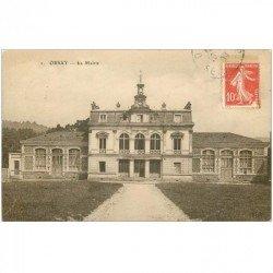 carte postale ancienne K. 91 ORSAY. La Mairie 1908
