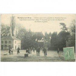 carte postale ancienne K. 91 SAVIGNY-SUR-ORGE. Château Duparchy 1921