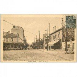 91 SAVIGNY-SUR-ORGE. Ecoliers sur petite chariotte Place Faidherbe à Grandvaux . Edition de l'Orge G. Vaurs