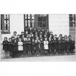 91 ETAMPES. Superbe et rare Photo de Classe avec Elèves 1933. Format carte postale par Jolivet 4 rue du Sablon à Etampes