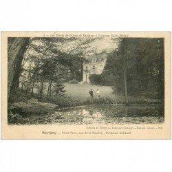91 SAVIGNY-SUR-ORGE. Propriété Solticoff. Pièce d'Eau. Bords de l'Orge vers Lormoy 1909. Edition Thévenet