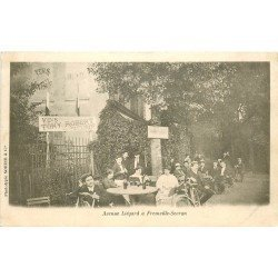 93 FREINVILLE SEVRAN. Buvette Restaurant Tony Robert Avenue Liégard 1904