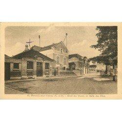 93 NEUILLY SUR MARNE. Hôtel des Postes et Salle des Fêtes