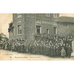 93 ROSNY SOUS BOIS. Ecoliers à l'Ecole de Garçons 1906