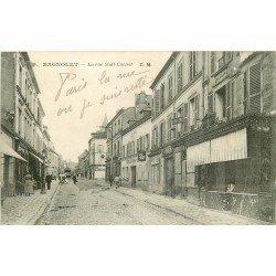 93 BAGNOLET. La rue Sadi Carnot vers 1910