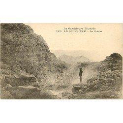 LA GUADELOUPE. La Soufrière et ses Volcans 1922