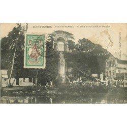 LA MARTINIQUE. Fort-de-France. Chute d'eau Canal de Gueydon 1910