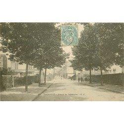 93 BAGNOLET. Avenue du Centenaire 1905 qui est à présent l'Avenue Galliéni