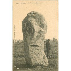 56 CARNAC. Le Géant du Ménec. Dolmens et Menhirs