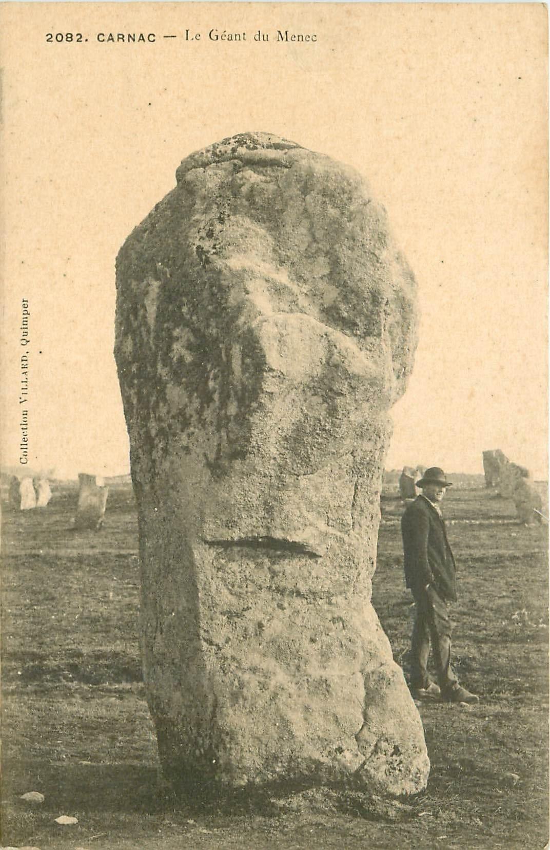 56 carnac le g ant du m nec dolmens et menhirs. Black Bedroom Furniture Sets. Home Design Ideas