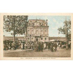 93 BAGNOLET. Le Marché Place de la Mairie