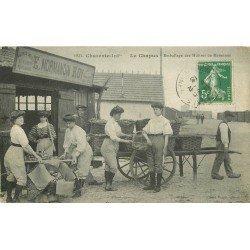 17 LE CHAPUS. Emballage des Huîtres de Marennes 1913. Métiers de la Mer chez Normandin Roy