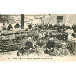 29 DOUARNENEF. Etetage et Séchage des Sardines. Métiers de la Mer