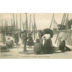 44 LE POULIGUEN. Salaison de la Sardine. Pêcheurs et Métiers de la Mer