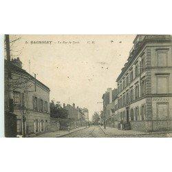 93 BAGNOLET. La Rue de Paris (disparue aujourd'hui)...