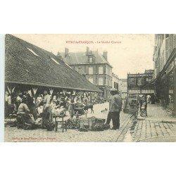51 VITRY LE FRANCOIS. Le Marché Couvert 1915