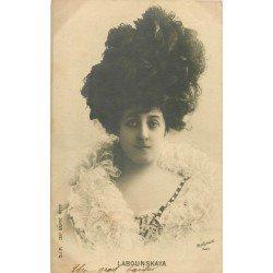 Spectacle et Théâtre. La Comédienne Labounskaya par Reutlinger 1903