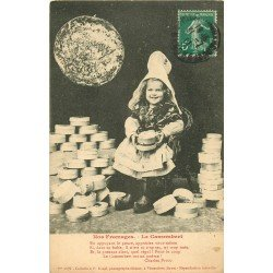 Folklores et Légendes. Nos Fromages le Camembert 1911