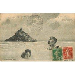 Folklores et Légendes. L'Enlisé au Mont Saint Michel 1920
