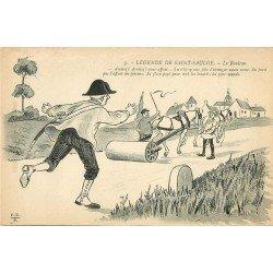 Folklores et Légendes. Le Rouleau compresseur de Saint Saulge avec Brigadier