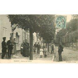 60 FROISSY. Café Buvette Avenue des Tilleuls vers 1906