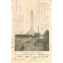 62 CALAIS. Le Phare carte pionnière 1902