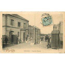 45 ORLEANS. Militaires au Quartier Dunois 1903