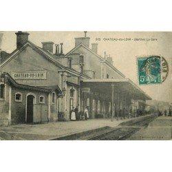 72 CHATEAU DU LOIR. La Gare 1910