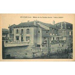 46 SAINT CERE. Hôtel de la Truite dorée chez Zaza 1939