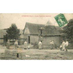 27 GUISENIERS. Ancien Pigeonnier seigneurial 1913 carte rare