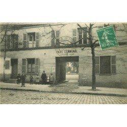 93 LE BOURGET. Entrée du Parc Communal 1931