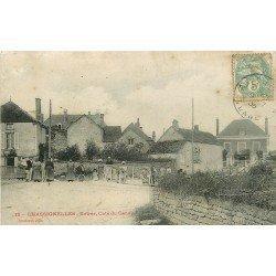 89 CHASSIGNELLES. Passage à niveau à l'Entrée coté du Canal 1906