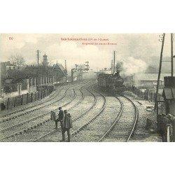 22 EXPRESS DE SAINT BRIEUC. Les Locomotives de l'Ouest et Cheminots sur la voie