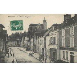 89 TONNERRE. Rue Général Campenon Commerce de vins 1908